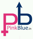 PinkBlue.in logo