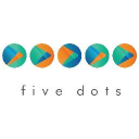 Five dots digital private limited logo